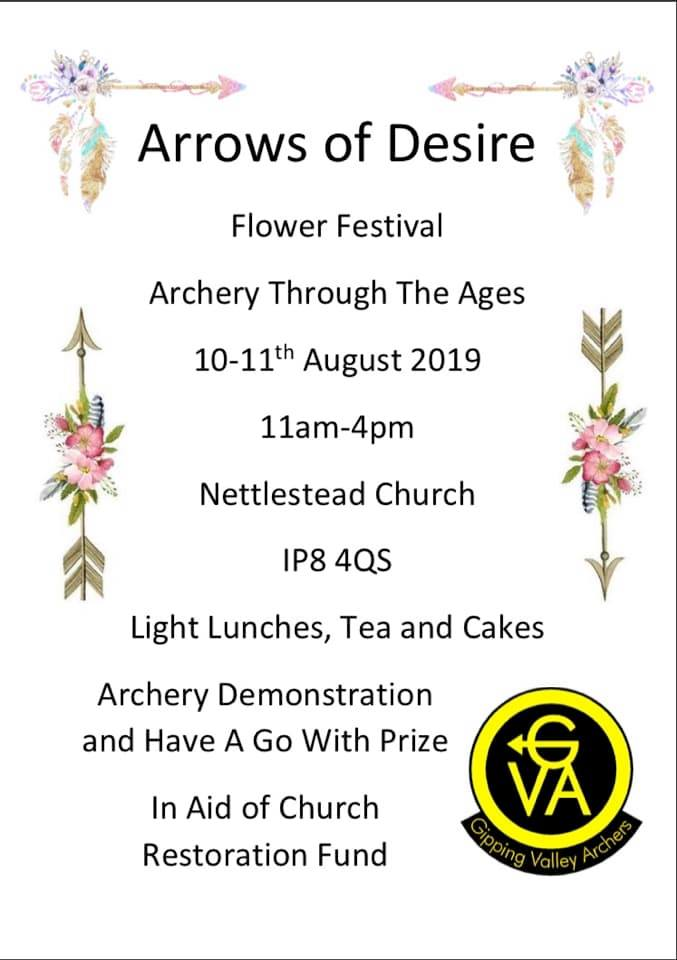 Arrows of Desire Nettlestead Church Event